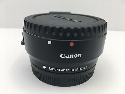 CANON EF-EOS M Mount Adapter Ring For EF lens to EOS-M for EOSM M3 M5 body