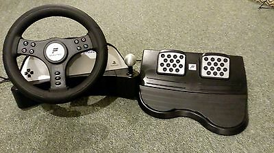 how to use a racing wheel for ps1 games