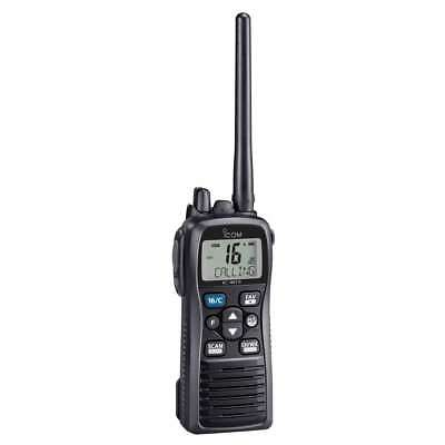 Icom M73 Plus Handheld VHF 6w IPXB Submersible Active Noise #M73 31