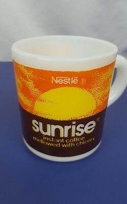 Nestle Sunrise instant coffee mellowed with chicory  cup mug