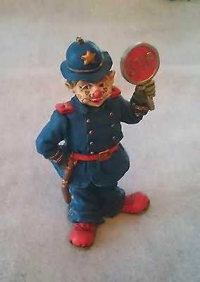 Snowlight Cotton Candy Clowns Stop and Go Cop Policeman Bobby porcelain 845648