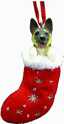 Akita Santa's Little Pals Dog Christmas Ornament