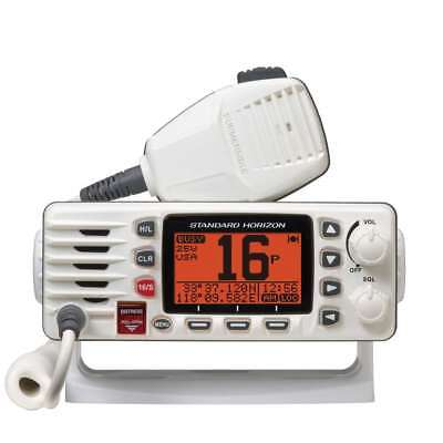 Standard 25w Ultra Compact Fixed Mount VHF White #GX1300W