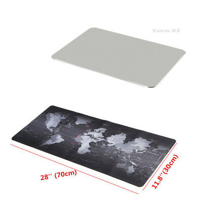 Aluminum/Rubber Game Speed Mouse Pad Large For Laptop Keyboard Mousepad Computer