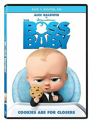The Boss Baby (DVD, 2017) (DVD ONLY NO BOX ART)