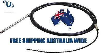Boat Steering Engine CABLE 17FT (5.18 metre) Suit Teleflex Ultraflex Multiflex