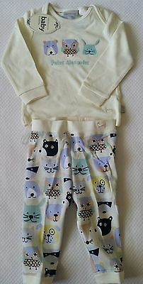 Peter Alexander Baby Pajamas 2 Piece Set, Size 9 - 12 mths, Brand new with tag