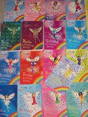 Bulk Lot 14 X Rainbow Magic Fairy Books- Mixed Lot -Daisy Meadows