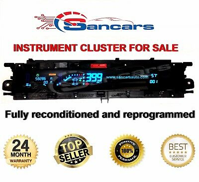 Renault Scenic Mk 2 Instrument Cluster with Fully Reconditioned and Reprogrammed