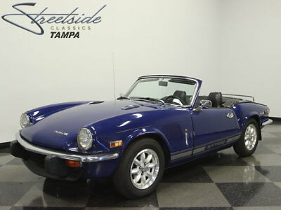 1972 Triumph Spitfire  77K ACTUAL MILES, NICELY RESTORED, WARRANTY CARD, RECEIPTS, FANTASTIC DRIVER!!