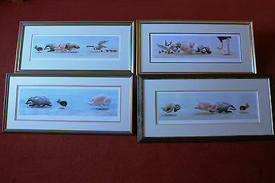 The Chase 2, 3, 4 & 5 William Geldart Limited Edition Signed & Numbered Prints
