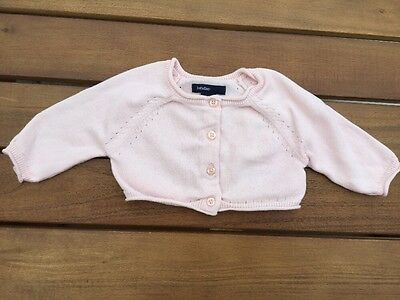 Beautiful Baby Gap Baby Girls Pink Cardigan, 0-3 Months, Excellent Condition!