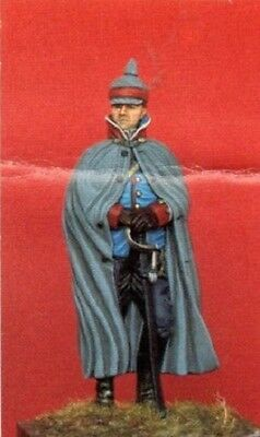 SOLDIERS MINIATURES SF-12 - UFFICIALE DEL 13° RGT DRAGONI 1900 - 54mm METAL