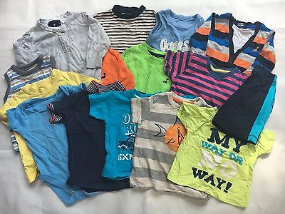 Baby Boys Age 9-12 Months Tops T-Shirts Bundle