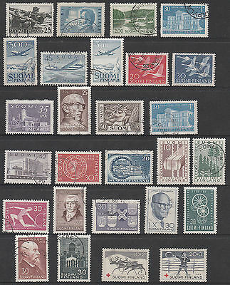Finland - Early Selection - Mint And Used - 27 Stamps