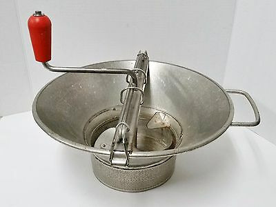 Vintage LT France Steel #5 Sieve for Food Mill - Very Small Perforations