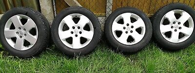 Vauxhall Vectra 215/55 r16 tyres with wheels