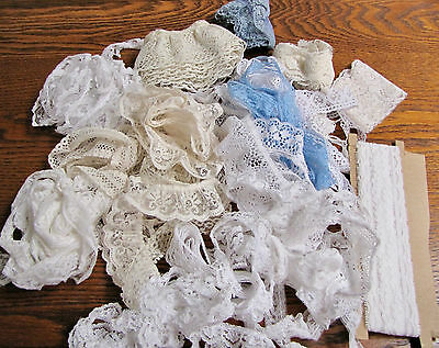 Lace Trim Lot, Doll Clothes Making, Crafts, Sewing, Etc.