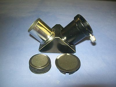 "DELUXE .965"" ALL-METAL DIAGONAL for Meade Telescope, NEW"