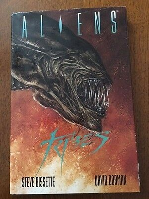 Aliens:Tribes Dark Horse Comics Hardback Graphic Novel - Rare 1992