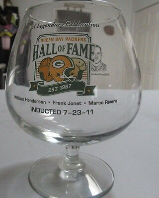 Green Bay Packers Induction Banquet  Glass