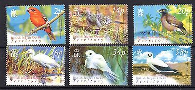 British Indian Ocean Territory 2004 Birds definitive set UM (MNH)