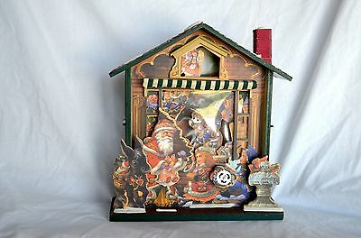 Christmas Music Box Based Plays Santa Claus is Coming To Town