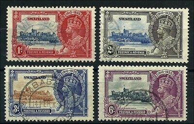 Swaziland  Silver Jubille, very fine used