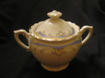 Carvel By Syracuse Covered Sugar Bowl EXCELLENT CONDITION