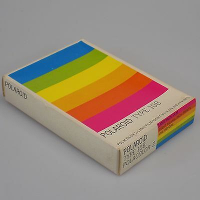 Polaroid Film Type 108 Polacolor Land - 8 Exposures - Sealed in Box