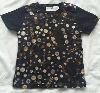 Baby Young Versace T Shirt  Age 12 Months