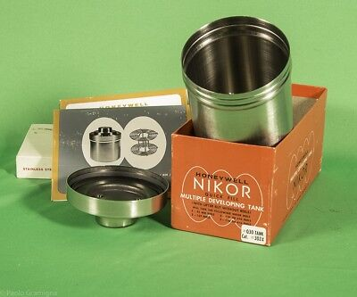 NIKOR Multiple Developing Tank  with Manual in Original Box, NEW!