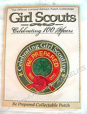 Official Girl Scout Collectible PATCH, BE PREPARED First Class Insignia 1925 MIP