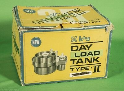 KING DAY LOAD Developing Tank 35 mm.  Extremelly Rare in Original Box, NEW!
