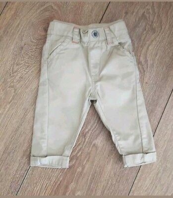 Baby Boys Chino Trousers Age 3-6 Months