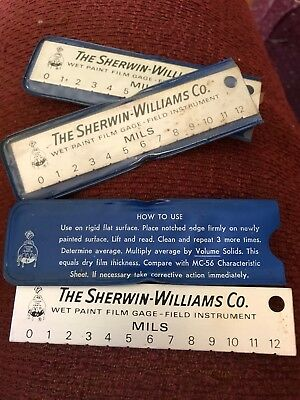 Sherwin williams co. wet paint film gage