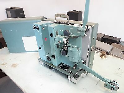 Large Collection 16mm Movie Projectors with Tube Amplifiers