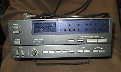 YAESU FC-757AT Automatic Antenna Tuner for FT-747 FT-757 - UNTESTED