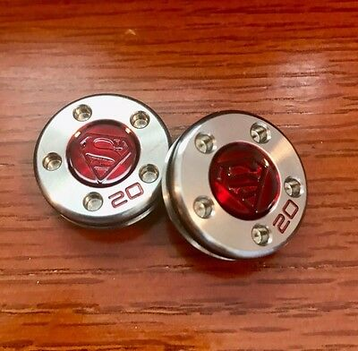 2 - 20g Custom Weights for Scotty Cameron Putters - Superman - New 20 gram Rare