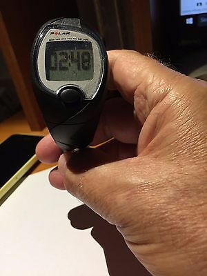 polar FS1 electro heartrate wrist watch w/chest set new water resistant 50M