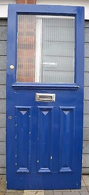 British front door 1920s/1930s. R481. WORLDWIDE DELIVERY!!!