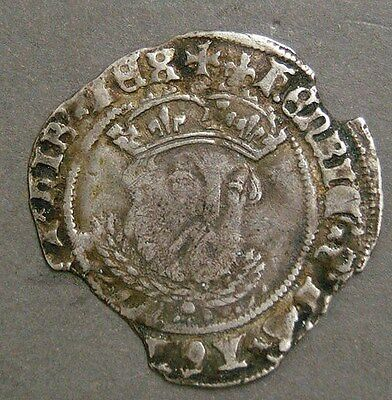 Henry VIII Groat. 3rd Coinage Bust 3 Tower Mint S.2369