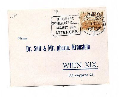 Austria  - Europe - Postally Used Cover To Usa  - Lot (Ost 018)