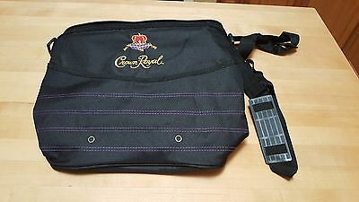 Crown Royal RARE Insulated Soft-Sided Cooler BAG with shoulder strap 12x12x6