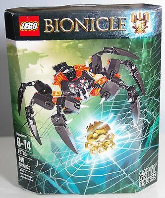 Lego Bionicle 70790 Lord of Skull Spiders - New, Sealed in Box