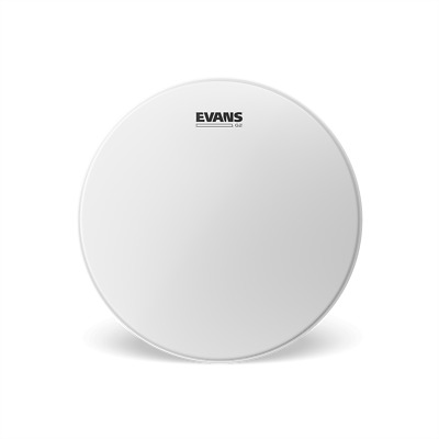"""Evans G2 Clear & Coated Drum Head Skin. Choose from 8"""" 10"""" 12"""" 13"""" 14"""" 16"""""""