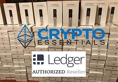 Ledger Nano S! Brand new! Free, Priority shipping!! IN STOCK - USA!
