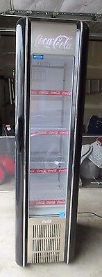 Coca Cola refrigerator cooler works great modern style