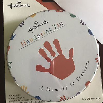 Hallmark Handprint Tin. NEW