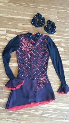 Beautiful Custom Girls Competition Ice Dance Ice Skating, Dance Ballroom Dress